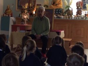 Learning about meditation
